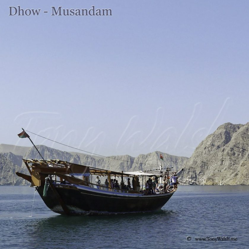 Dhow - Musandam Oman's Top 5 things to do in April