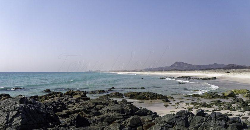 Beach Masirah Island