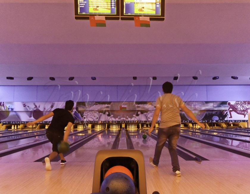 Bowling at Fun Zone - Muscat Oman's Top 5 to do June