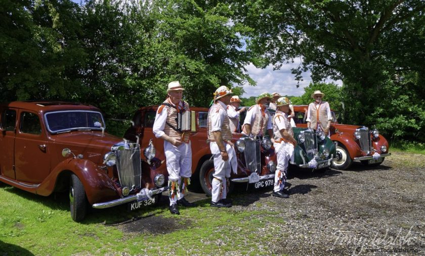 MG Cars and Thaxted Morris Men
