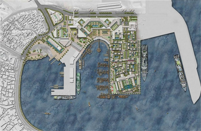 Mina Sultan Qaboos Waterfront in Muscat