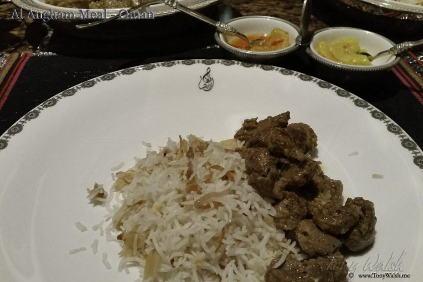 Al Angham Meal - Oman 10 reasons to visit muscat this winter