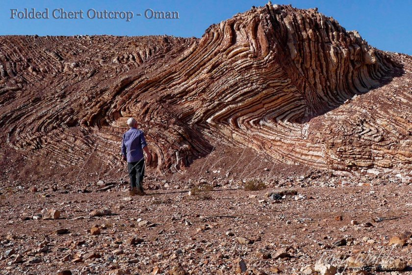 Tony Checks out the Chert 'Mother of all Outcrops' Geology - Oman