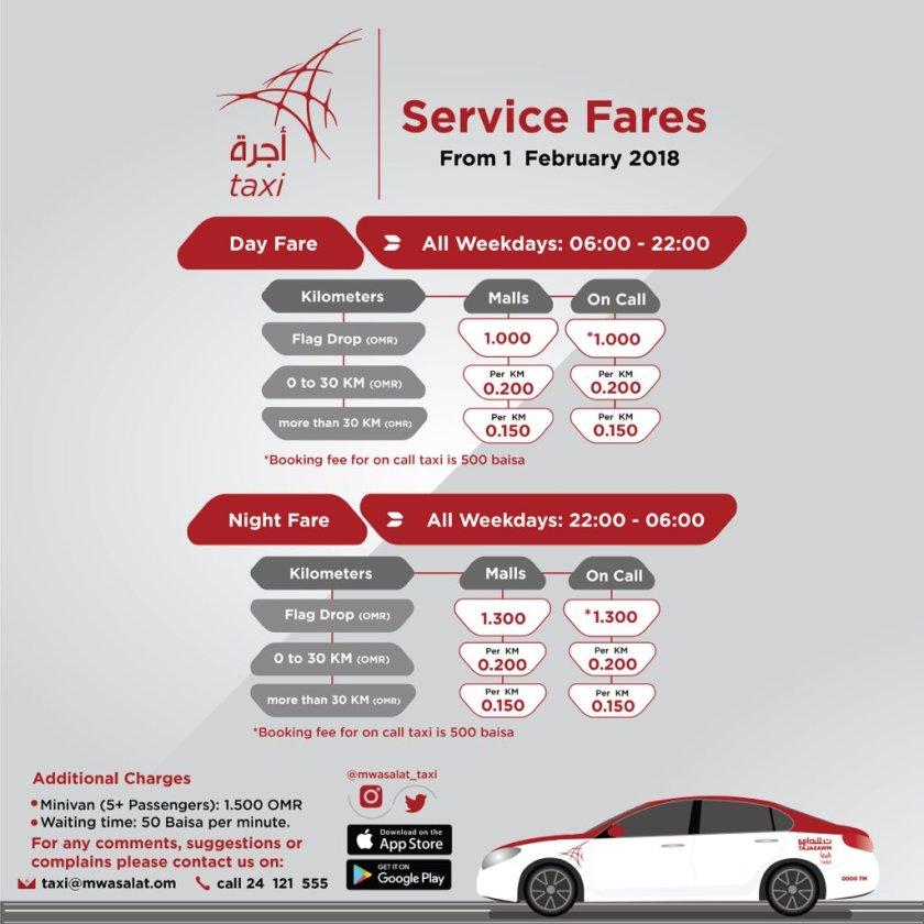 Mwasalat Taxi Oman FEB