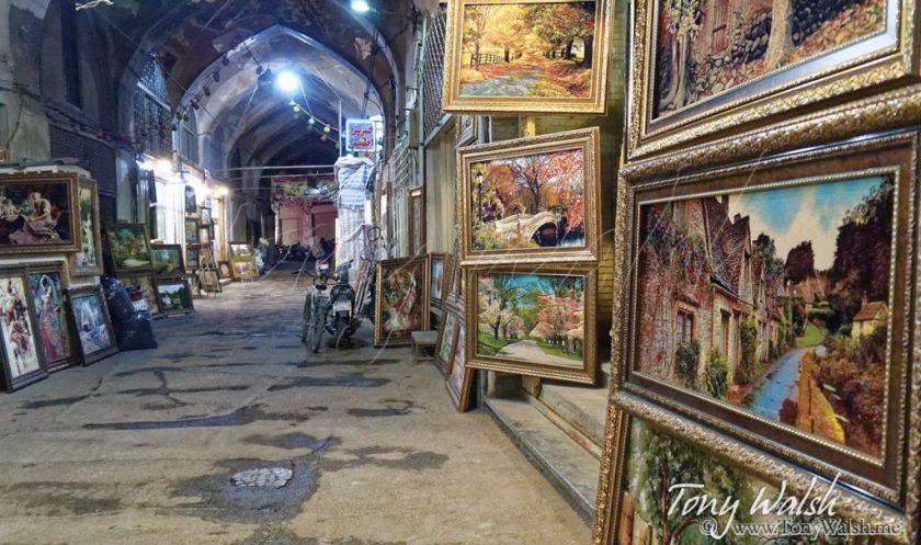 Arlington Row Bibury England in Isfahan Bazar Bozorg