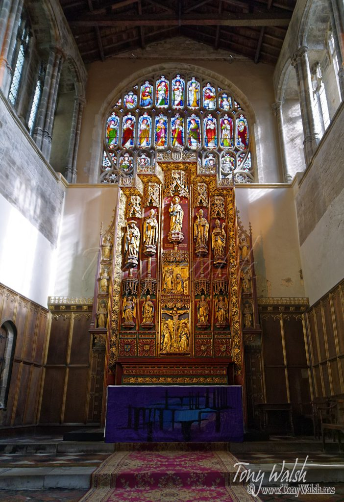 King's Lynn Minster reredos