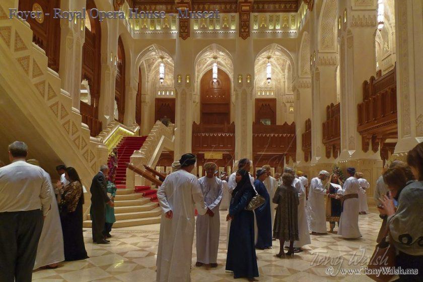 Foyer - Royal Opera House - Muscat