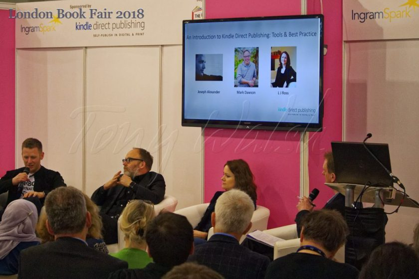 Kindle Direct Publishing discussion – London Book Fair