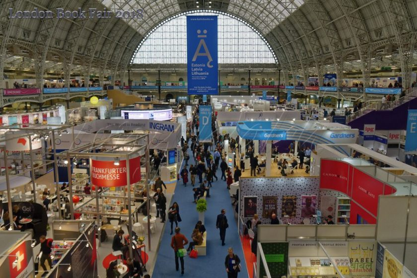 London Book Fair Olympia 2018