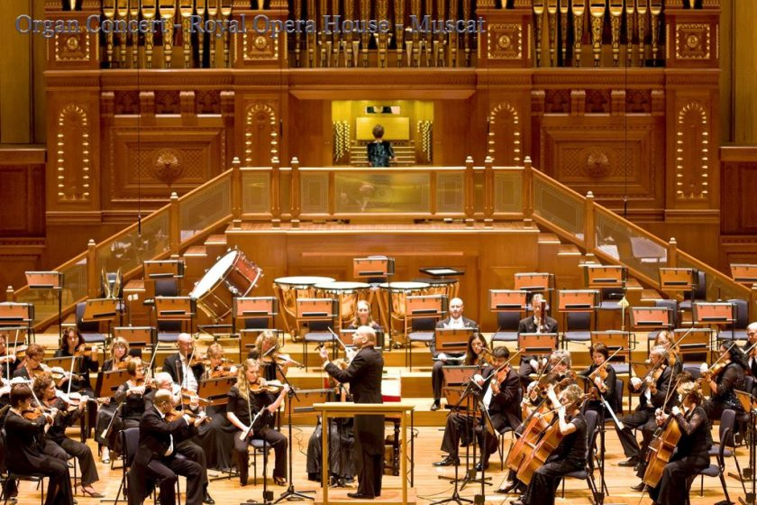 Organ Concert - Royal Opera House - Muscat