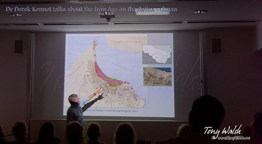 Dr Derek Kennet BFSA Talk Archaeology in Oman