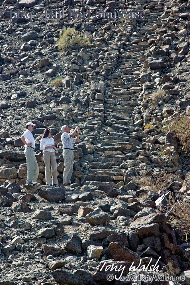Lizq staircase Oman
