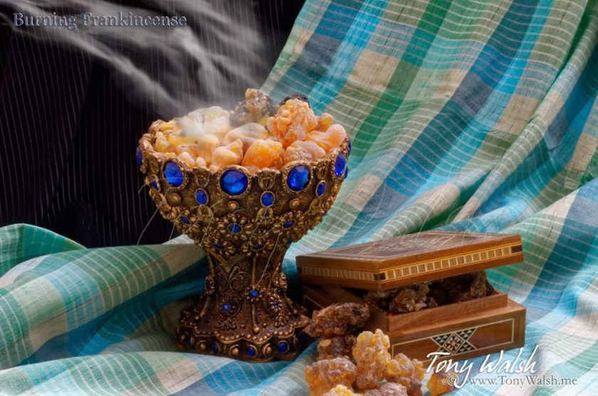 Burning Frankincense