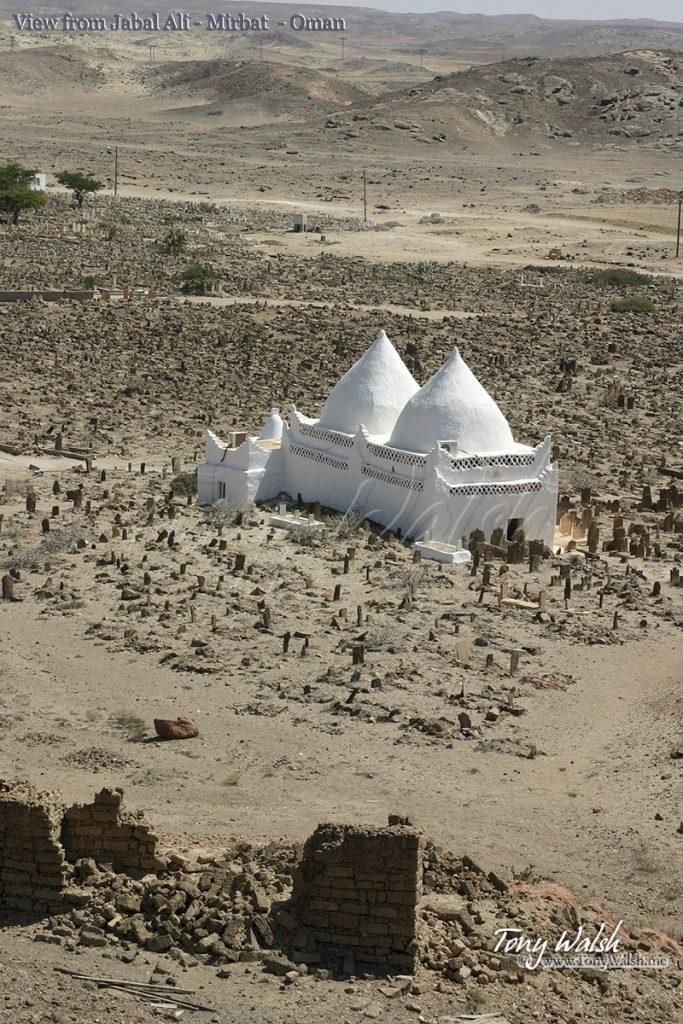 View from Jabal Ali - Mirbat - Oman Battle of Mirbat