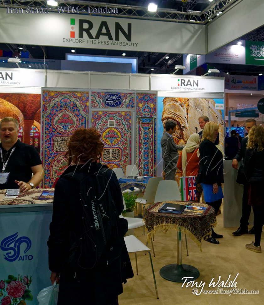 Iran Stand - WTM - London