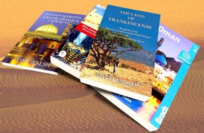 Oman Books by Tony Walsh