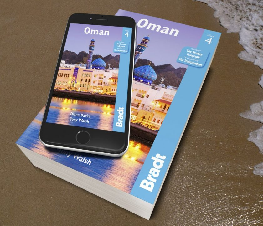 Oman Guide Book by Tony Walsh