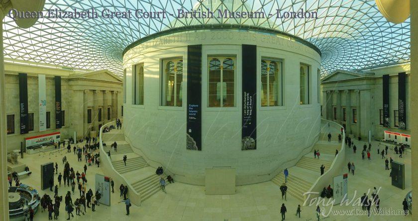 British Museum Queen Elizabeth Court - London