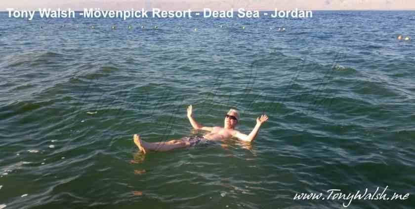 Tony Dead Sea Jordan