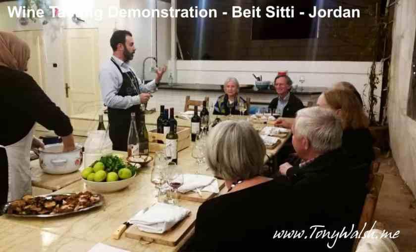 Mario Junior Appiani of Jordan River vineyards at Bait Sitti