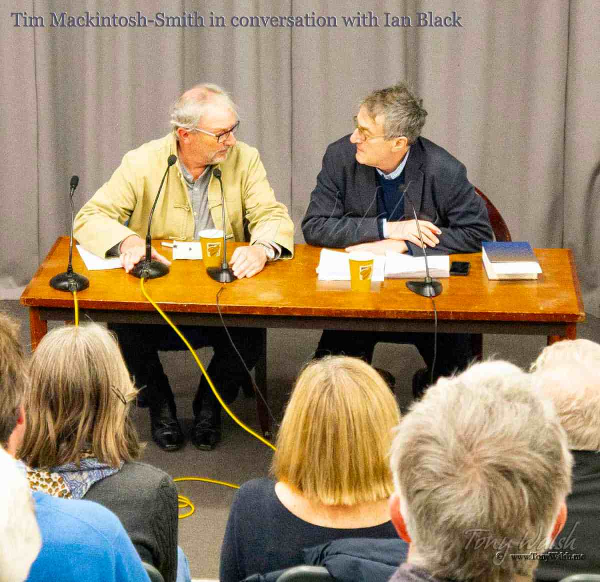 Tim Mackintosh-Smith in conversation with Ian Black
