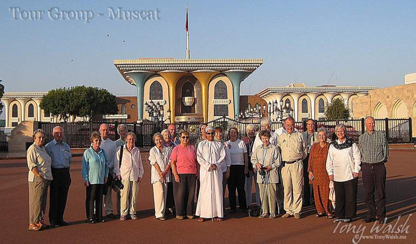 Tour Group Muscat Oman