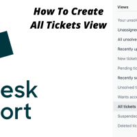 How to create all tickets view in Zendesk
