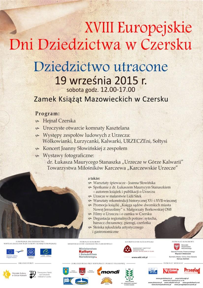 Plakat XVIII EDD