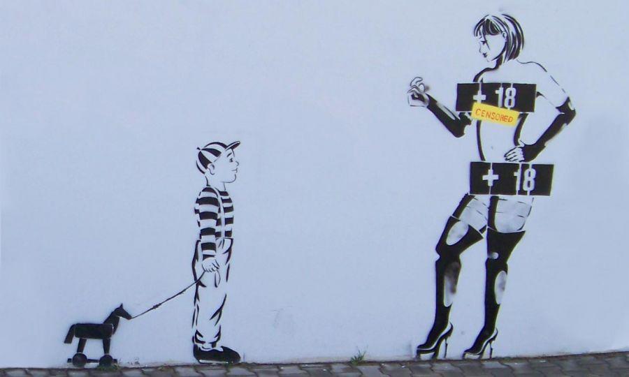Graffiti in Hradec Králové, República Checa.(CC BY-SA 3.0) ŠJu. Wikimedia Commons