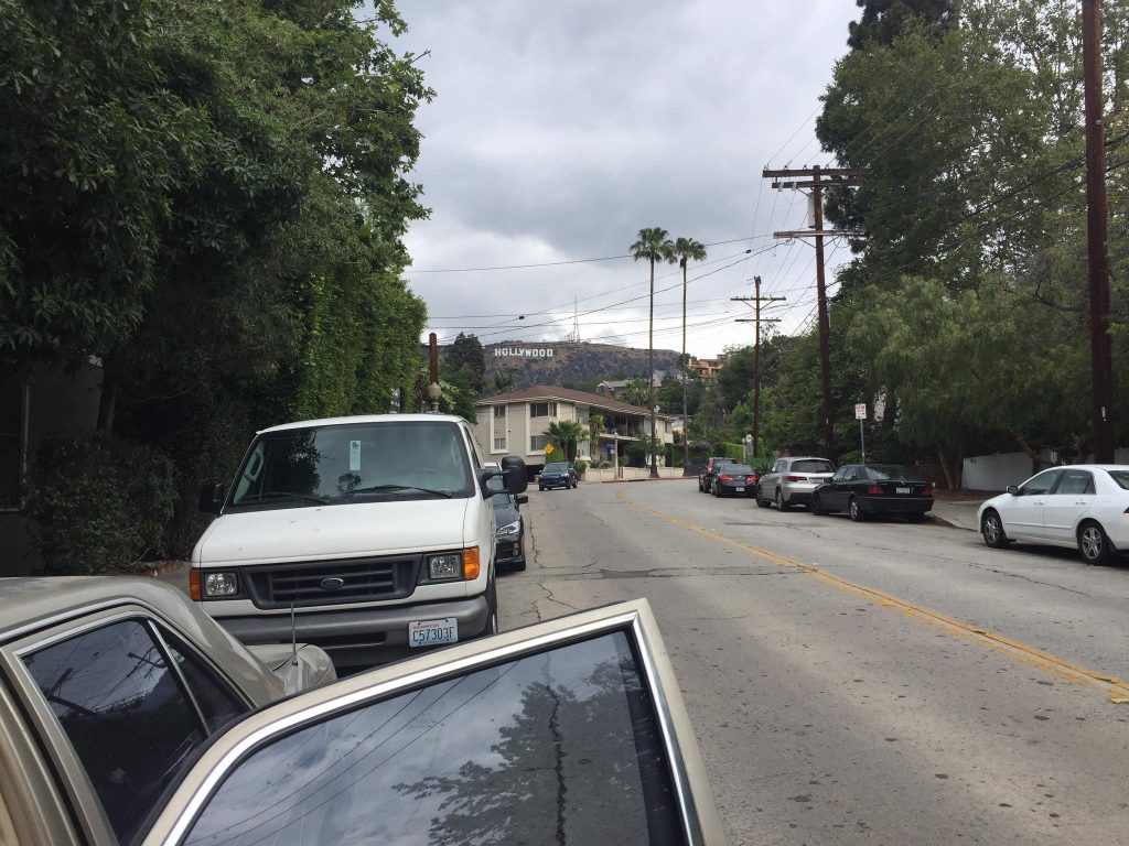 Hollywood sign from Beachwood