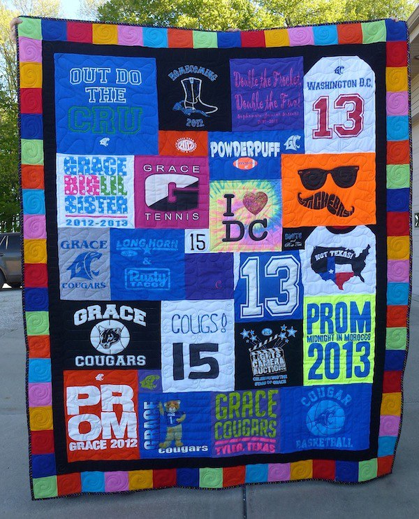 T Shirt Quilt Pricing Guide