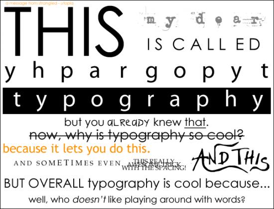 47 Amazing Typography Inspirations