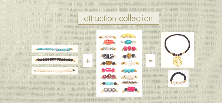 Attraction Jewelry Collection from Tookey Buxton