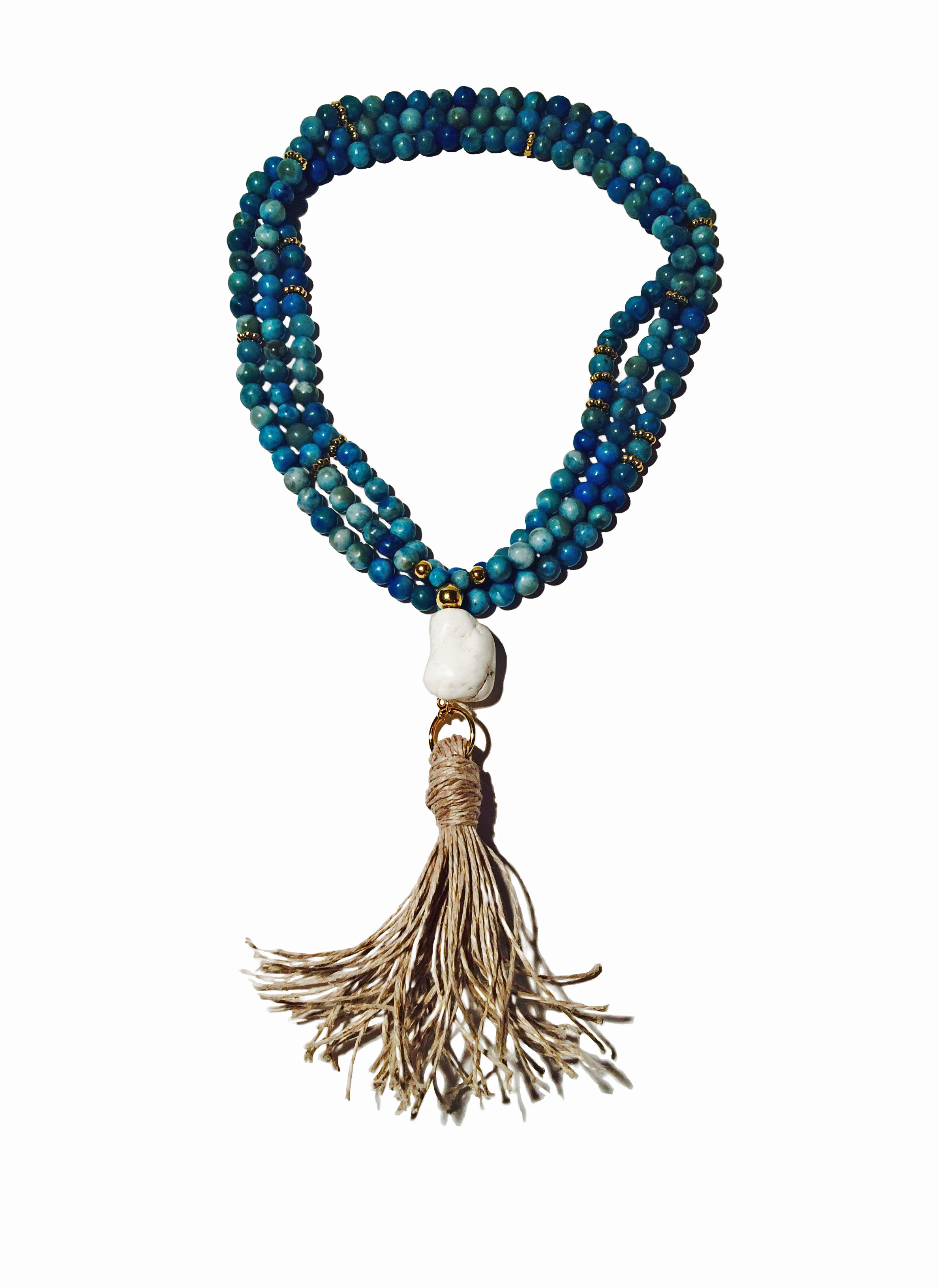 fringe pendant new twisted tassel vintage jewellery silver products ethnic timber beads shop multilayer boho necklace chain turquoise rivet fashion