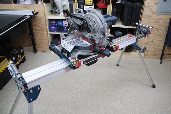 Aluminum Miter Saw Stand