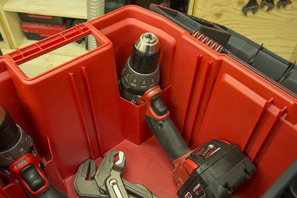 Milwaukee Tool Box Drill Holder  Tool Box Buzz Tool Box Buzz