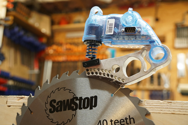Sawstop Dust Collection Blade Guard Review