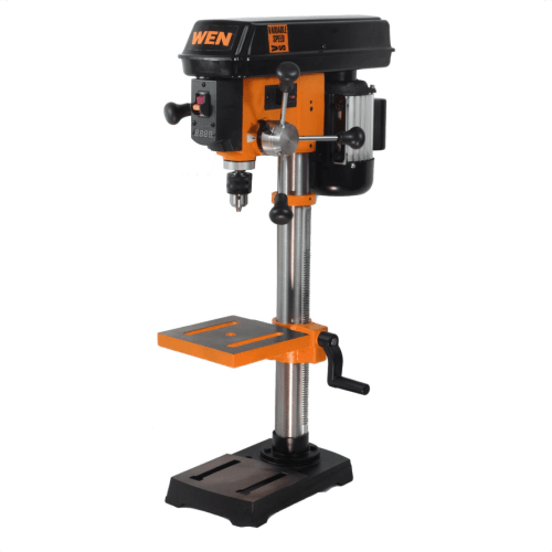 small resolution of image showing the wen 4214 12 inch variable speed drill press