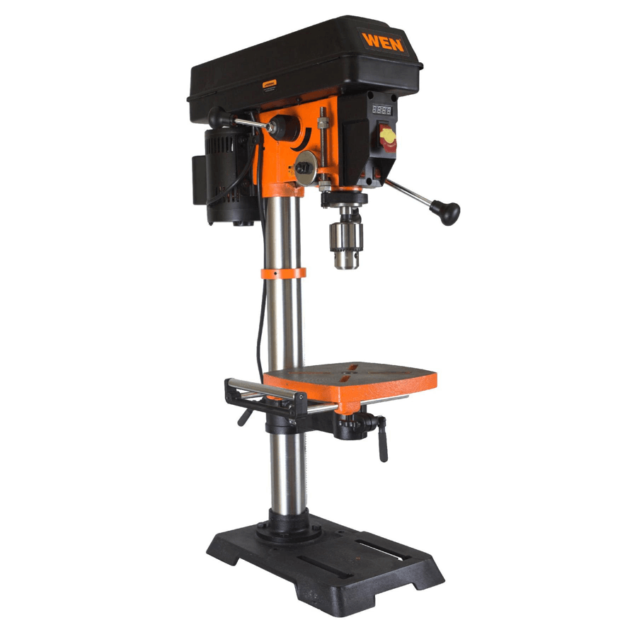 medium resolution of image showing the wen 4214 12 inch variable speed drill press