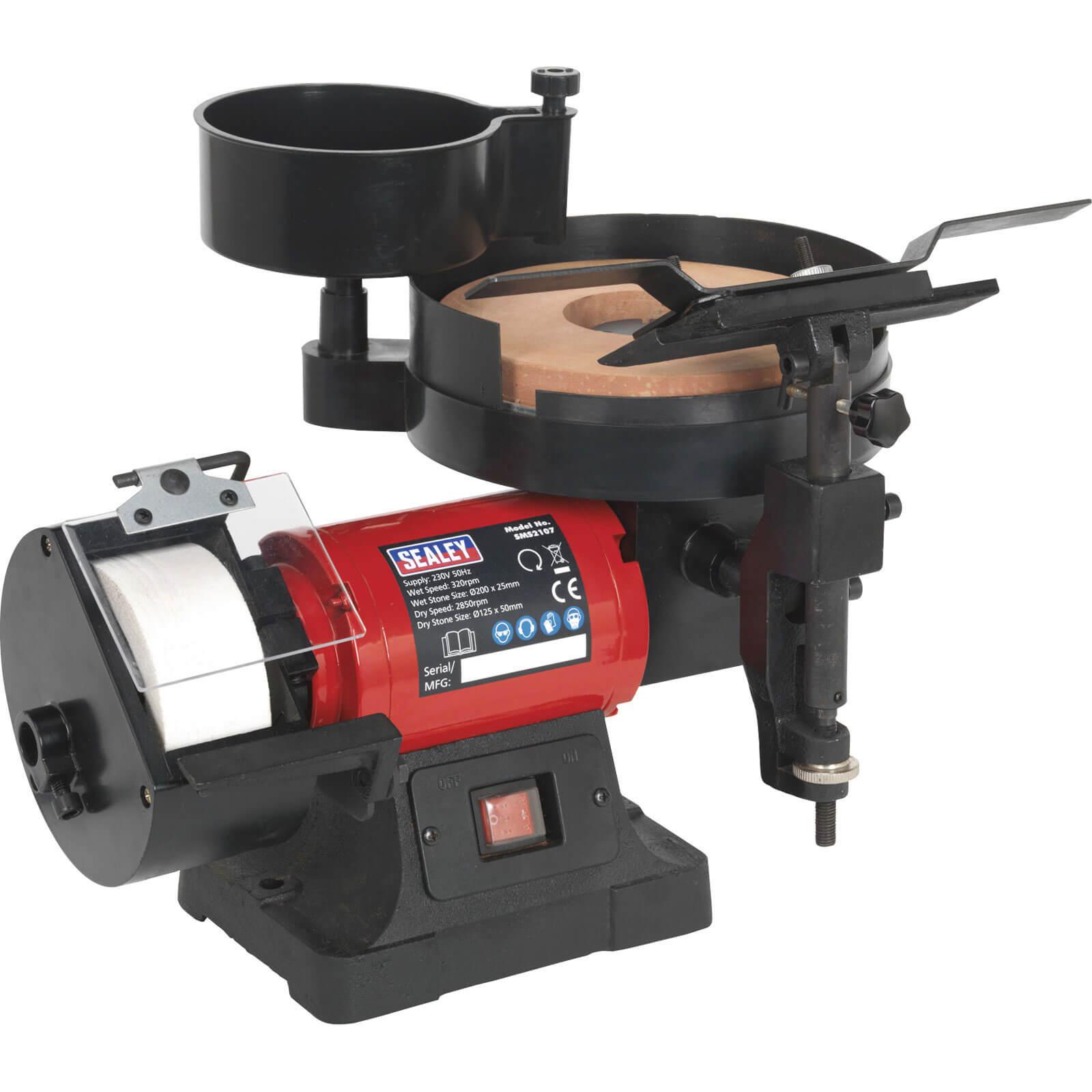 Sealey Sms2107 Wet Amp Dry Bench Grinder Amp Sharpener