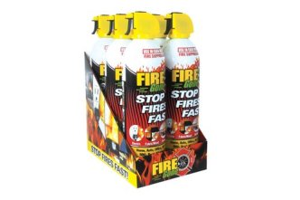 Fire Gone (FG6-067-106) Pre Loaded Countertop Display