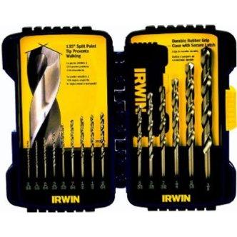 Irwin Industrial Tools 316015 Cobalt Drill Bit Set
