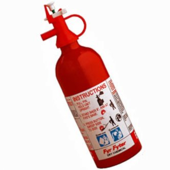 RV Fire Extinguisher, Disposable, 2-B:C by Kidde