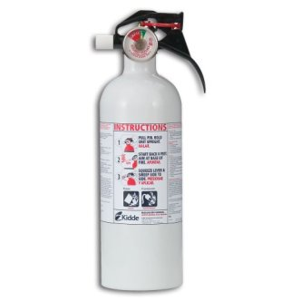 Kidde Mariner5 Fire Extinguisher with Pressure Gauge