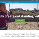 WeVideo, editor video online