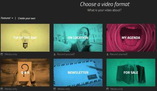 Showbox, crea video senza rivali direttamente online