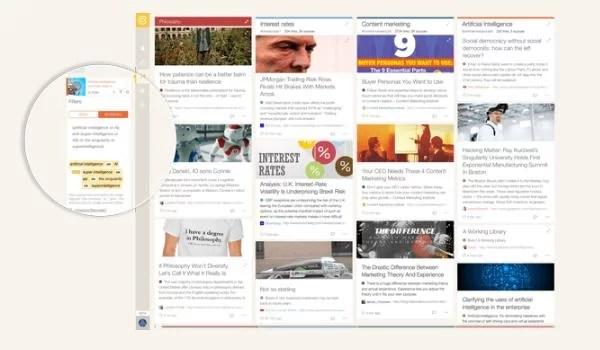 piattaforma per la content curation