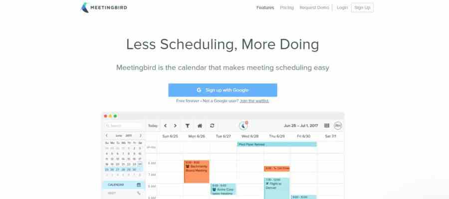 meetingbird-calendario