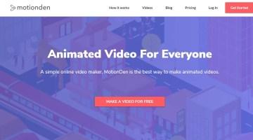 MotionDen crea video