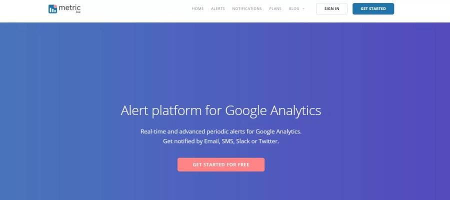 notifiche google analytics